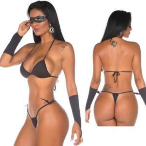 Mini Fantasia Tiazinha Pimenta Sexy - Sexshop