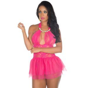 Camisola Sexy, Camisola Sexy Afrodite Pink Pimenta Sexy