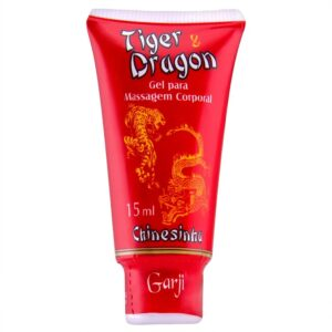Tiger e Dragon Pomada Chinesinha 15ml Garji - Sexshop