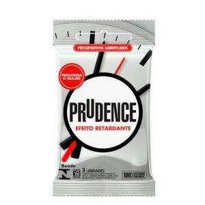 Preservativo Efeito Retardante Prudence - Sexshop