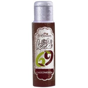 Gel Gelado Aromatizante Sabor Chocomenta 35ml HotFlowers - Sexshop