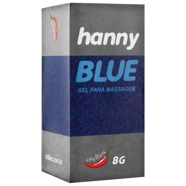 Kit 03 Anestésico Anal Hanny Blue 8gr Chillies - Sexshop