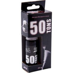 Estimulador 50 tons de cinza Jatos 15ml SoftLove - Sexshop