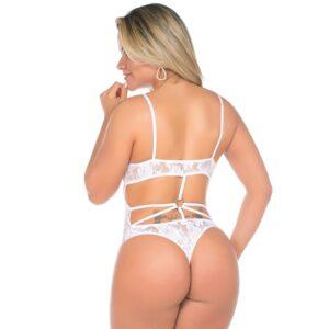 Body Sexy Kelly Branca Pimenta Sexy - Sex shop