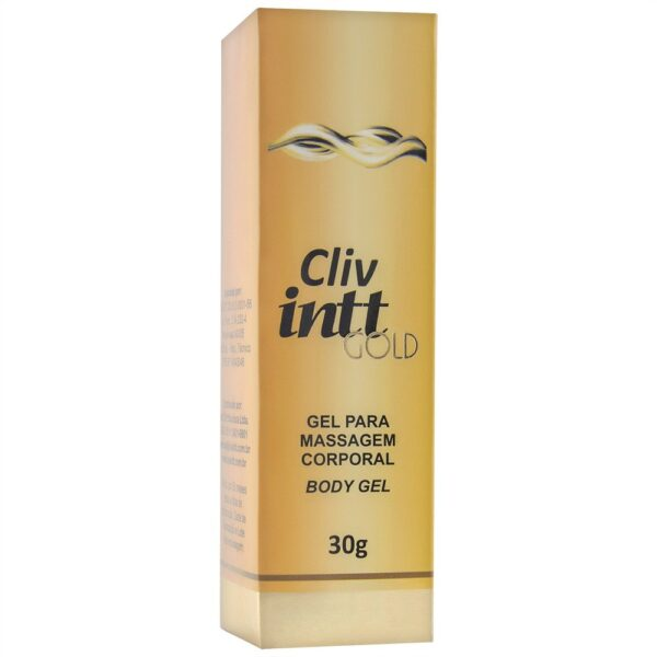 Gel anal Cliv Gold Anestésico Anal 30g Intt - Sex shop