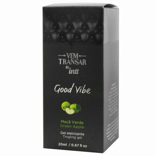 Vem Transar Good Vibe Gel Eletrizante 20ml INTT - Sex shop