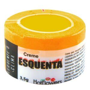 Creme Esquenta Erótico 3,5g HotFlowers - Sex shop