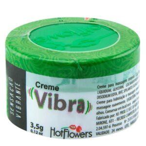 Vibra Creme Gel vibrador 3,5g Hot Flowers - Sex shop
