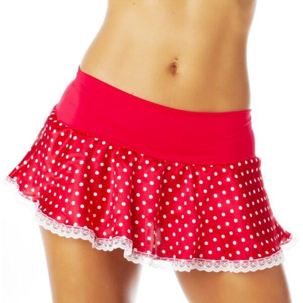 Saia Lolita Vermelha Pimenta Sexy - Saia Sexy
