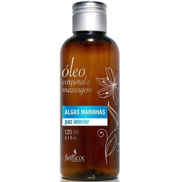 Óleo Aromático de Massagem Algas Marinhas 120ml - Sex shop