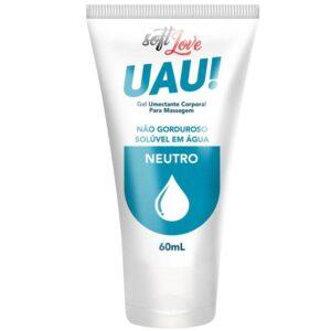 Lubrificante Uau! Aromático Neutro 60ml SoftLove - Sexshop