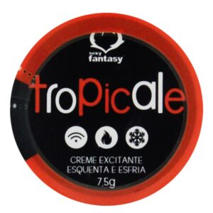 Creme Tropicale Esquenta e Esfria Sexy Fantasy 7,5g - Sexshop