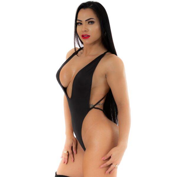 Body Cavadão Preto - Pimenta Sexy