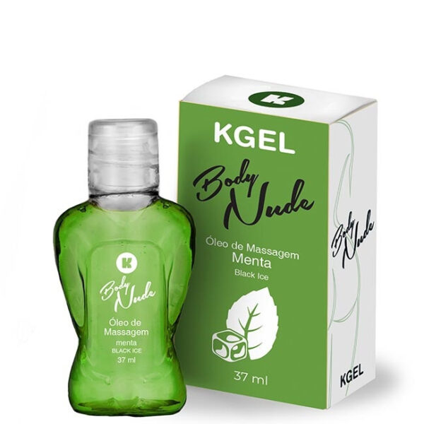 Óleo de Massagem Body Nudes Kgel Ice menta 37ml - Sexshop