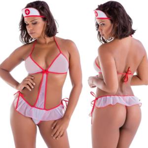 Fantasia Erótica Doutora Body Amareto - Sex shop