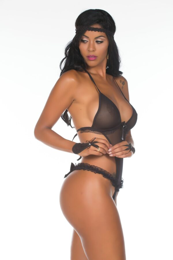 Fantasia Viúva Negra Star Pimenta Sexy - Sex shop