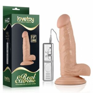 "Pênis Real com Vibrador Extreme 7,0"" Long - Lovetoy"