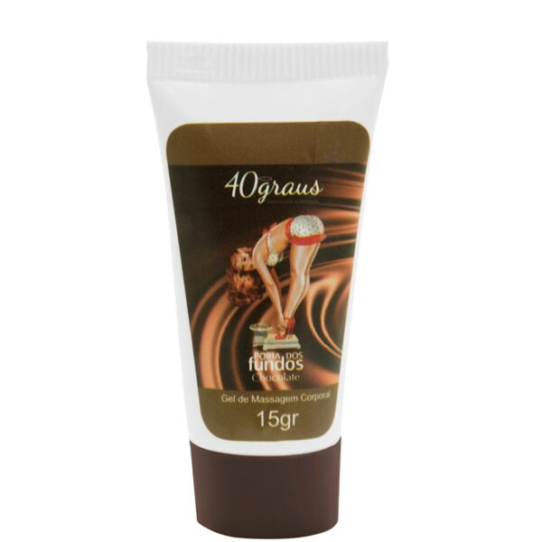 Anestésico Anal Porta dos Fundos Aroma Chocolate 15gr - Sex shop