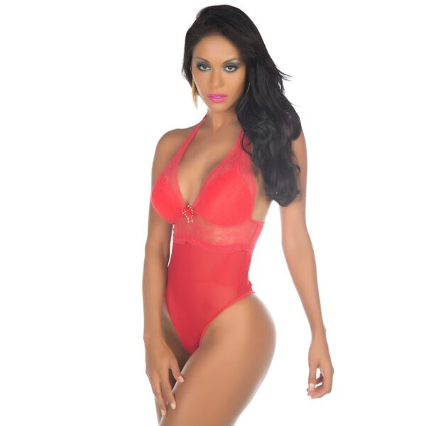 Body Sexy Vermelho Delicate Pimenta Sexy - Sexshop
