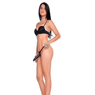 Strap On - cinta com pênis realístico - Pele 14,5x4cm - Sexshop