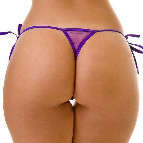 Tanga de amarrar Uva - Sexshop