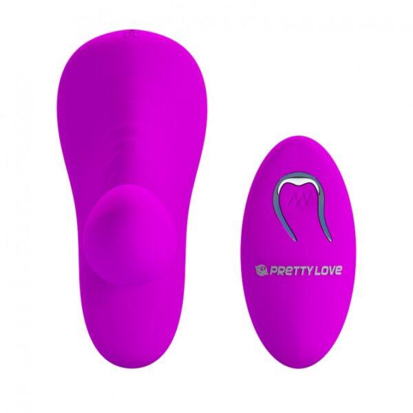 Estimulador Clitoriano Wireless com Penetrador e 12 Modos de Vibração - PRETTY LOVE - Sexy shop