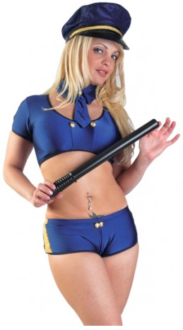 Fantasia Policial Europeia - Sex Shop