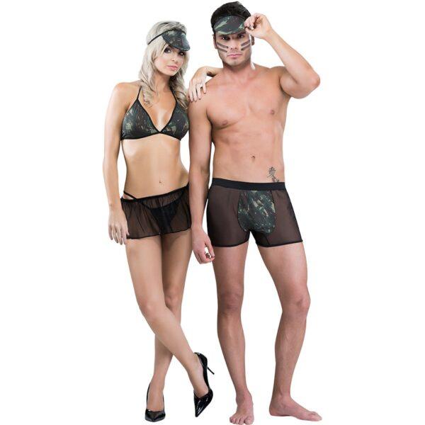 Fantasia Temática Casal Militar SexyFantasy - Sex shop-0