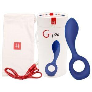 Gpop - Royal Blue - Estimulador Ponto G, Feminino e Masculino - Sex shop