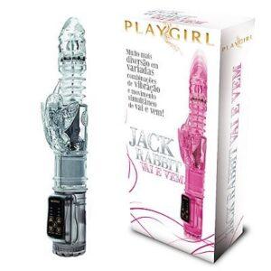 Jack Rabbit vai e Vem Clear - Vibrador - Sex shop-0