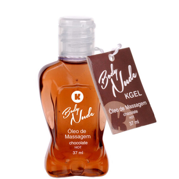 Óleo de Massagem Body Nudes Kgel Hot Chocolate 37ml - Sexshop