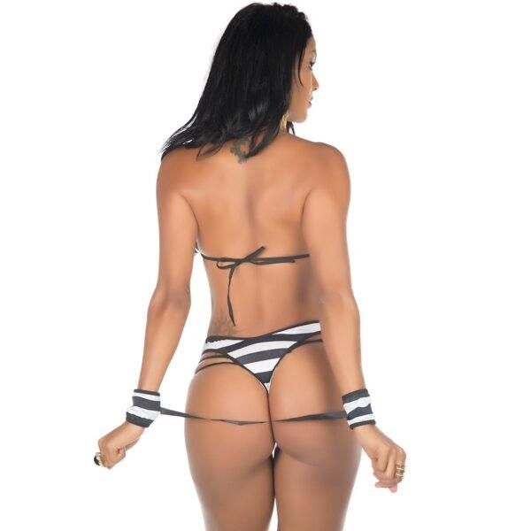 Kit Mini Fantasia Presa Apaixonada Pimenta Sexy - Sex shop