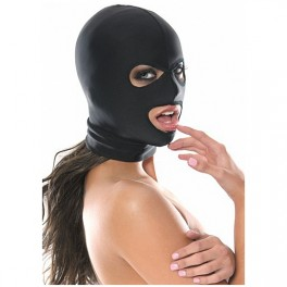 Mascara para Fetiche com abertura na boca e Olhos - Sexshop
