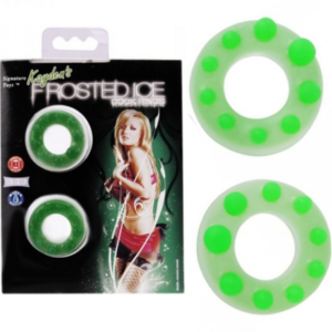 Anéis peniano frosted Ice cock - Sexshop