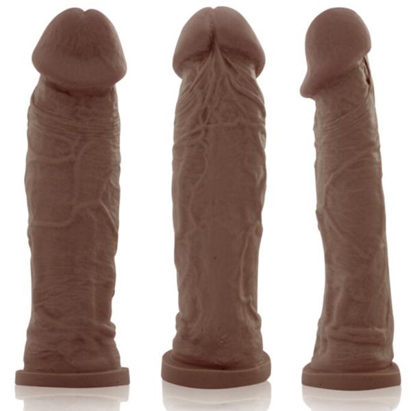 Pênis REAL PETER Charmoso Style Marrom 20x5cm - Sex shop
