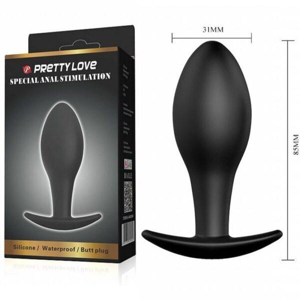 Plug Anal Silicone - Pretty Love - Sex shop