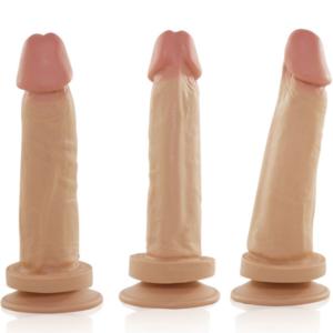 Pênis Real Peter com ventosa Exclusivo 17x4cm - Sex shop