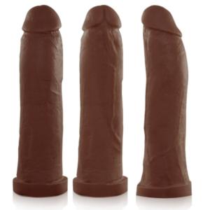 Pênis Real Peter Taurus Marrom 19x4,5cm - Sexshop