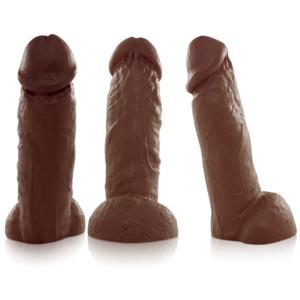 Pênis Grosso e Grande Real Peter Marrom ROCCO 21x6cm - Sexshop