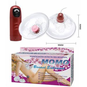 Estimulador e Vibrador de Mamilos - Momo II - Baile - Sexshop