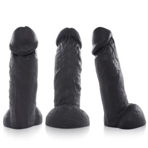 Pênis Grande e Grosso Real Peter Preto ROCCO 21x6cm - Sexshop