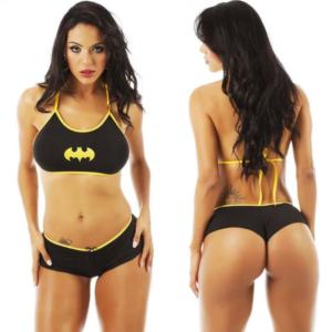 Kit Mini Fantasia Bat Girl Pimenta Sexy - Sexshop