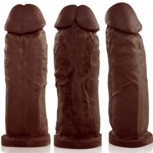 Pênis Real Peter Larger Marrom - 18x5cm - Sexshop
