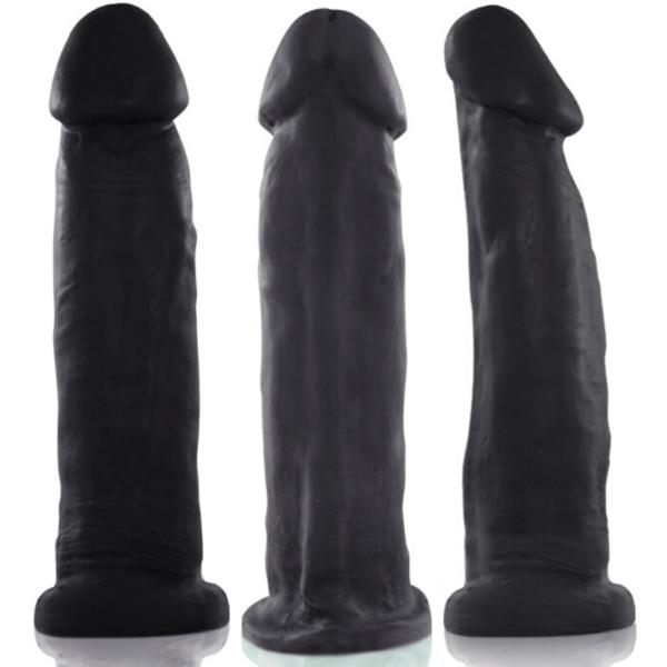 Pênis Real Peter Preto Big Boss - 5x20 cm - Sexshop