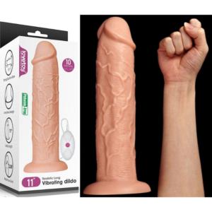 Pênis Grande Realístico - Chubby Dildo II - Lovetoy - Sex shop