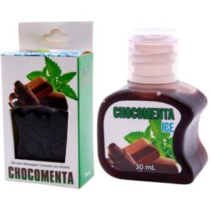 Gel Gelado Comestível Chocomenta 30ml SoftLove - Sex shop