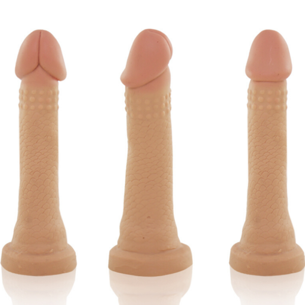 Pênis Real Peter Fininho - 2,5 x 13cm - Sex Shop