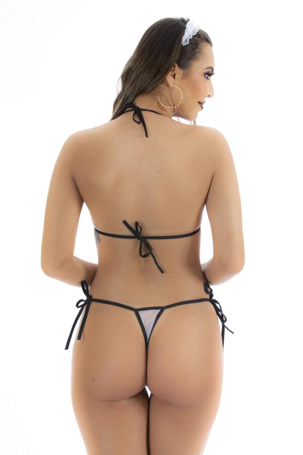 Kit Fantasia Pimenta Empreguete Pimenta Sexy - Sexshop