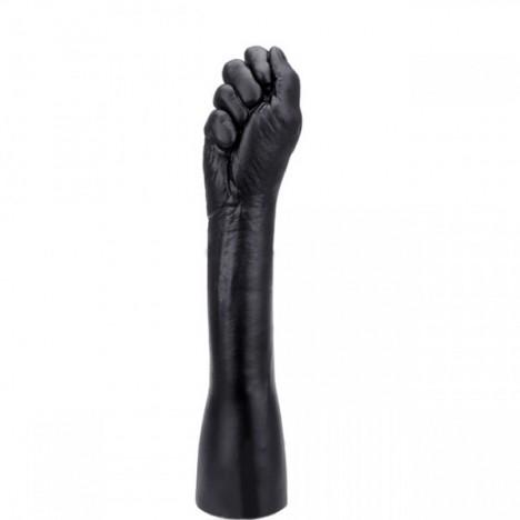 Fisting Penetrável forma de mão Fechada preta - Sexshop