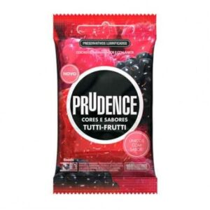 Preservativo Cores e Sabores Tutti-Fruit - Sex shop